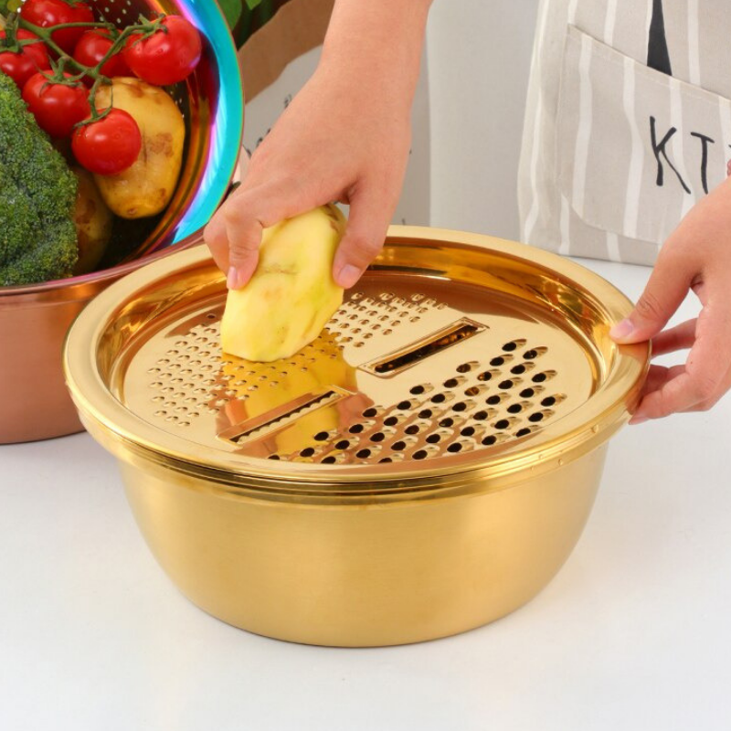 Portable Multifunctional stainless steel basin