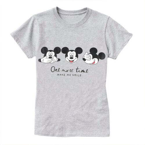 beispiellos online zum Verkauf anerkannte Marken Details about Women Minnie Mickey Mouse Cotton T Shirt Top Summer Short  Sleeve Tee Blouse Tops