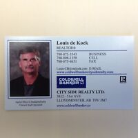 Are you moving to Lloydminster? Need a House? Call Louis