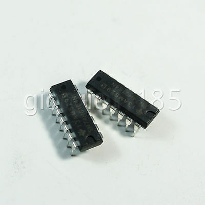 Us Stock 10pcs Sn74hc164n 8bit Serial-inparallel-out Shift Register Dip-14 Ic