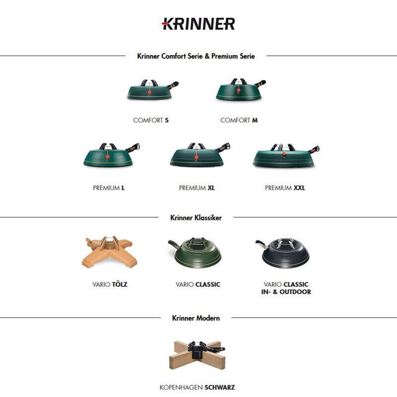 Krinner Christbaumständer Premium S, M, L, XL, XXL | Weihnachtsbaumständer