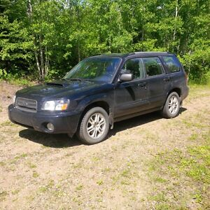 SOLD - 2005 Subaru Forester XT Turbo Premium SUV, Crossover