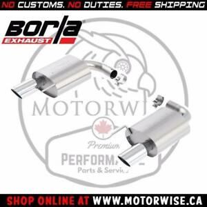 Borla ATAK Axleback Exhaust System | 2015 to 2017 Ford Mustang GT | Shop & Order Online at motorwise.ca