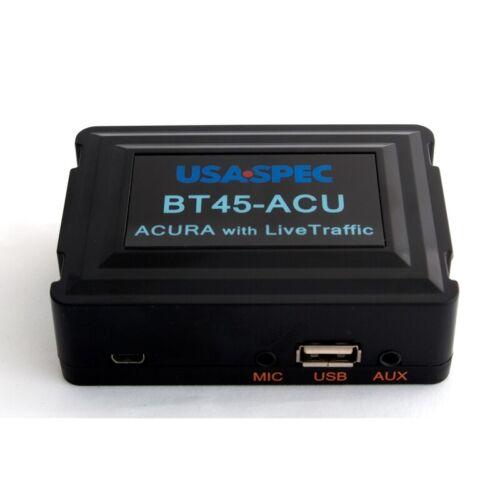 USA SPEC BT45-ACU Acura With Live Traffic HandsFree Phone/Bluetooth/AUX/USB NEW