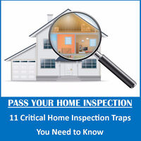Home Sellers- Don't Get Caught in an Inspection Trap!