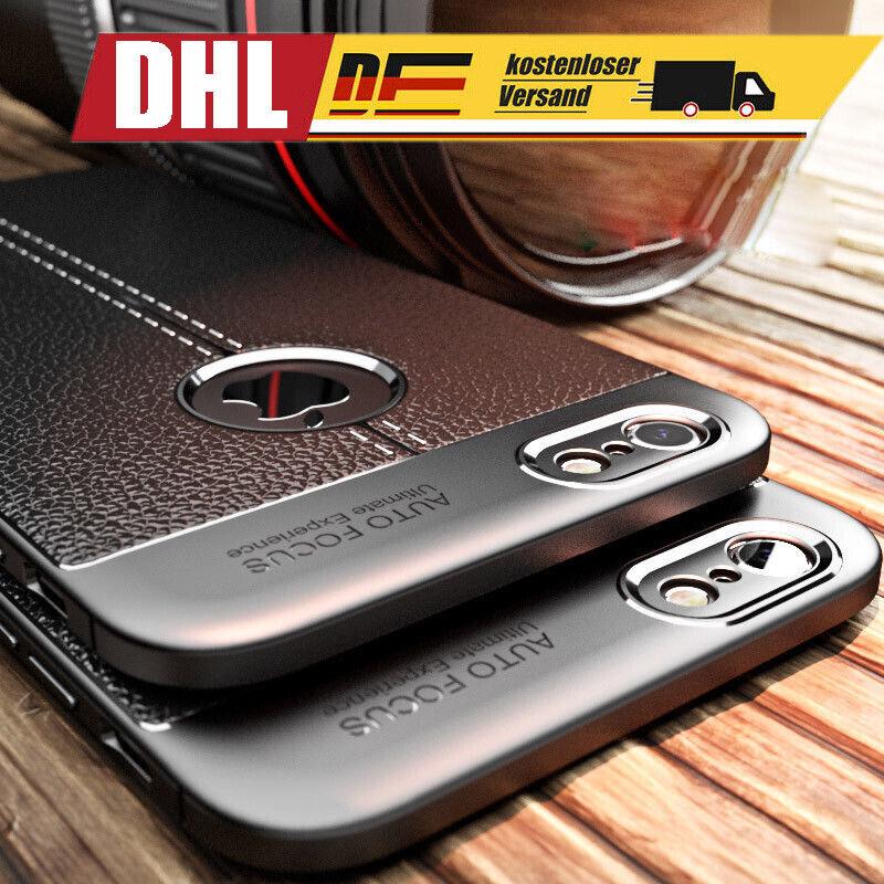 Luxus Dünn Handy Tasche Schutz Hülle für iPhone Samsung Galaxy Huawei Bumper