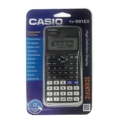 Used, Casio FX-991EX Engineering/Scientific Calculator High Definition Display Sealed for sale  Shipping to South Africa