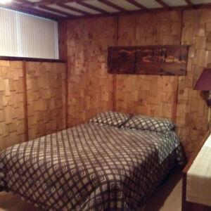 Rosemère, banlieue Nord Montréal, Superbe chambre style bachelor