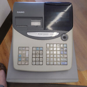 2 fully functioning Casio cash registers