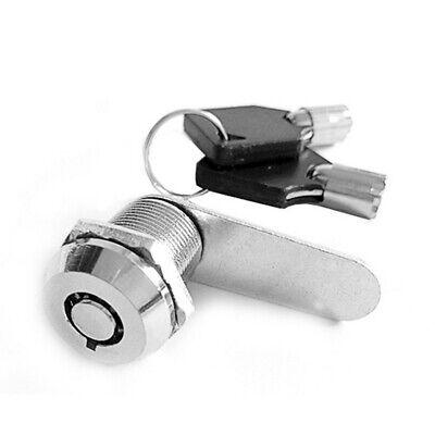 Replacement Lock For Desk Drawer Cabinet Door Cam Lock Metal Panel Box Locker