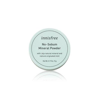 [INNISFREE] No Sebum Mineral Powder 5g / Double sebum control