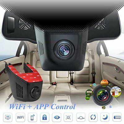 1080P Full HD WiFi Dash Camera Car Recorder Camera Car DVR Cam 170° Wide-Angle