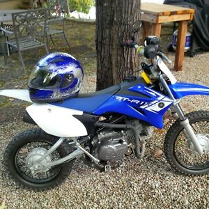 Yamaha TTR110 dirt bike