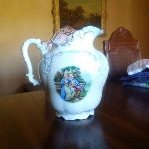 Beautiful water pitcher