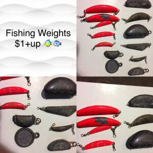 Fishing Weights $1+up each