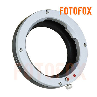 LM-FX F Leica M Lens to Fujifilm X-Pro1 X-E1 Lens Mount Adapter M Mount FX Mount