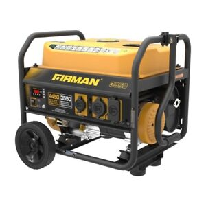 Generator,New,  Gas-Powered 4,450 Watt Portable