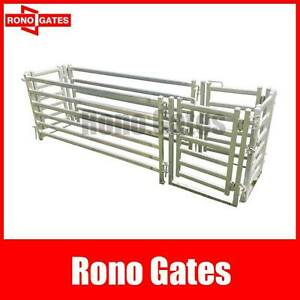 Galvanized Steel Sheep Panel Draft Race 50% Off Hallam Casey Area Preview