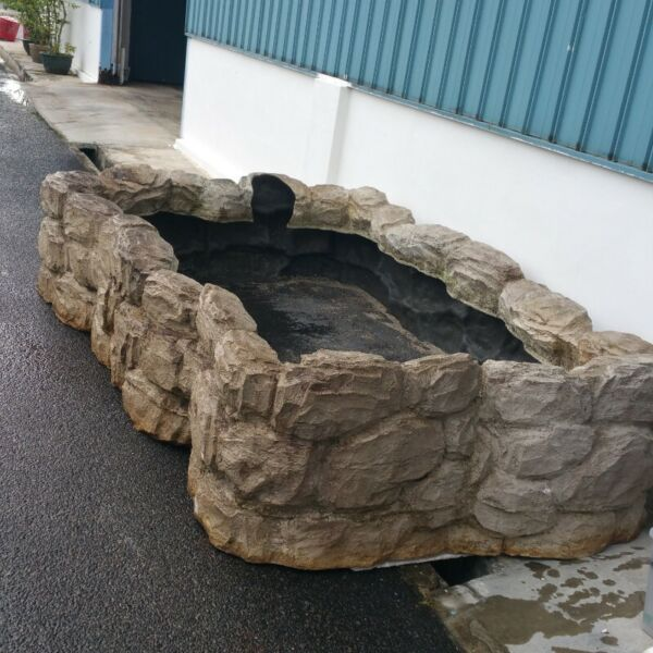 Fish pond cleaning service