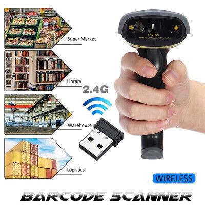 2.4g Usb Pos Wireless Laser Handheld Barcode Scanner Bar Code Scan Gun Reader
