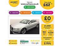 Audi A5 2.0TDI ( 168bhp ) 2010MY quattro Sport FROM £62 PER WEEK!