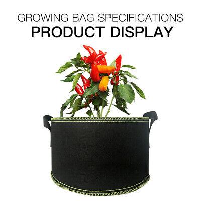 1 Gallon Vertical Greening Hanging Wall Garden Grow Plant Bags Planter Grow Bags