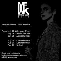 Volunteer casting call for Mississauga Fashion Week