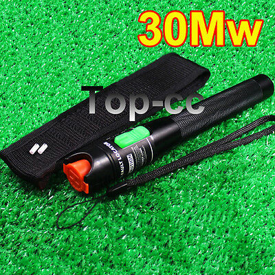 30mw 20-30km Visual Fault Locator Fiber Optic Cable Tester Test Equipment