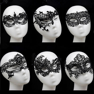 Sexy Lace Mask Masquerade Fancy Costume Party Ball Hollow Flower Eye Mas Bh W0HW