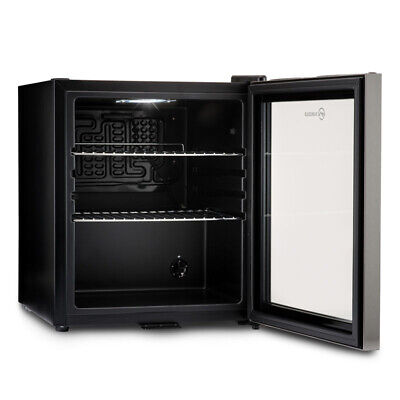Subcold Super 50 LED Black/Stainless Steel Door | Mini Beer & Drinks Fridge | A+