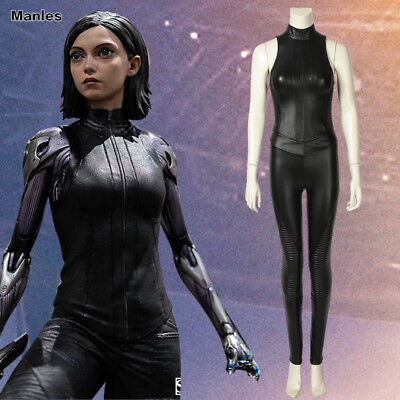 Comic Con Outfits (Alita Battle Angel Cosplay Alita Costume Fancy Dress Comic Con Outfits Game)