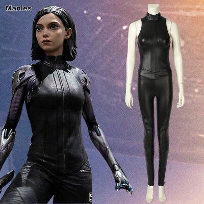 Comic Con Outfits Female (Alita Battle Angel Cosplay Alita Costume Fancy Dress Comic Con Outfits Game)