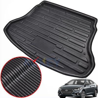 Boot Cargo Liner Trunk Floor Tray Mat Carpet For Hyundai Accent Verna Sedan (Accent Liner)