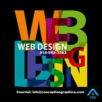 CONCEPTION SITE WEB DESIGN - HÉBERGEMENT 1 AN, LONGUEUIL 499-