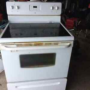 Smooth top Stove, hood range and water cooler for sale!