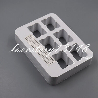 100x Dental X-ray Film Mount Frame 6 Hole Slot Clinic Universal With Label