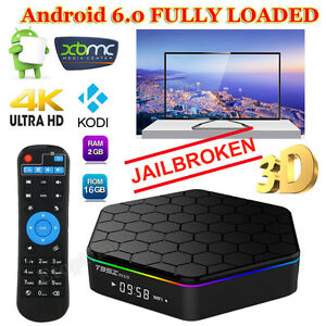 T95Z Plus Amlogic S912 Android TV BOX 2G/16G Media Player 2.4G&5