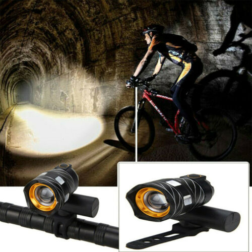 water resistant flashing usb rechargeable led mtb