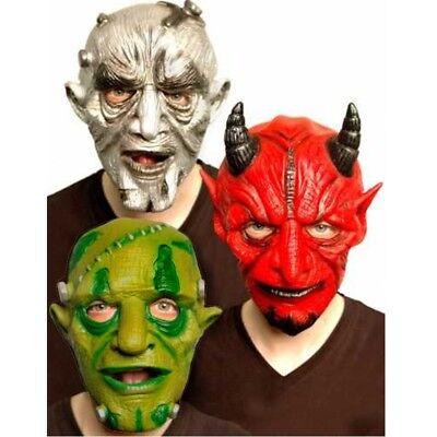 Maske für Fasching Halloween Karneval Teufel Frankenstein Monster Erwachsene Neu