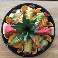 VEGETABLE AND FRUIT PLATE