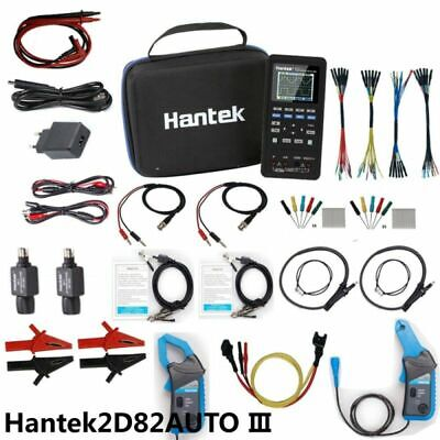 4in1 Hantek 2d82 Auto Oscilloscope Automotive Diagnosticdmmwaveform Generator