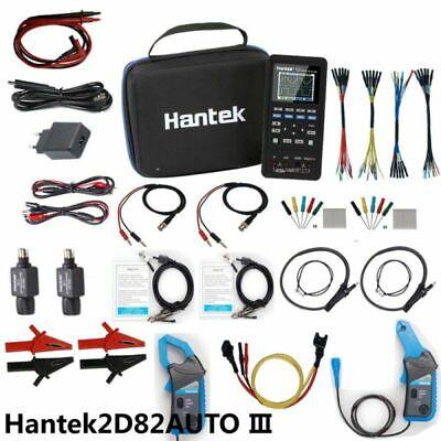 4in1 Hantek 2d82 Auto Oscilloscope Automotive Diagnosticdmmwaveform Generator