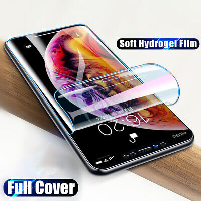 Hydrogel Silicone Screen Protector Sticker Film for IPhone XS Max XR 11 Pro -