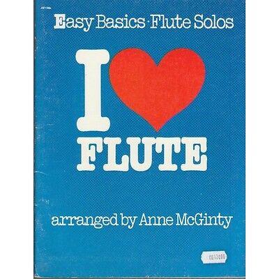 I Love Flute Easy basics - flute solos