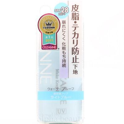 CEZANNE Japan Make Keep Base Primer (30ml/1 fl.oz.) SPF28 PA++ [Light Blue]