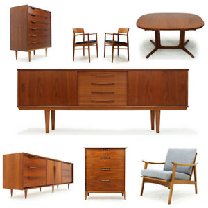 Mid Century Furniture Selection - Great Selection!!