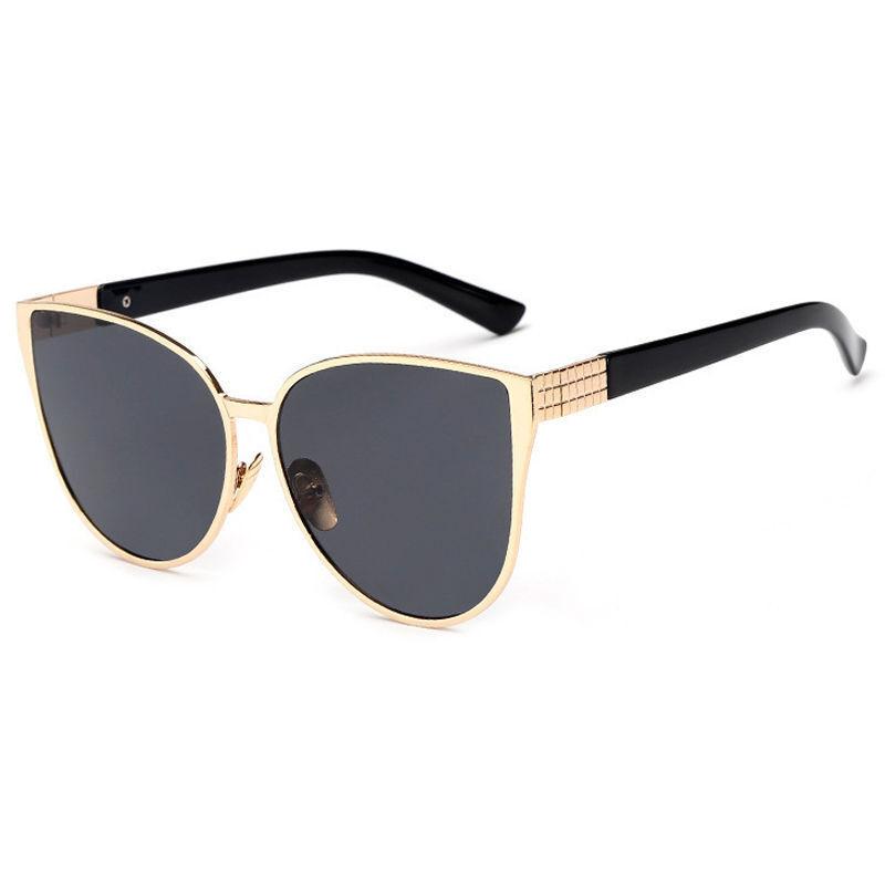 Vintage Retro Women Cat Eye Sunglasses Shades Oversized Designer Glasses Eyewear
