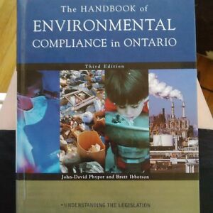 The handbook of Environemntal Compliance in Ontario