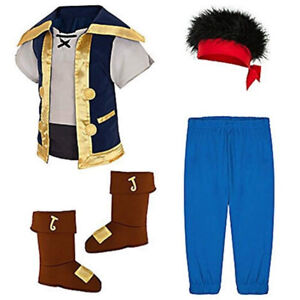 Disney Store Jake and The Neverland Pirates 5-6T + accessories