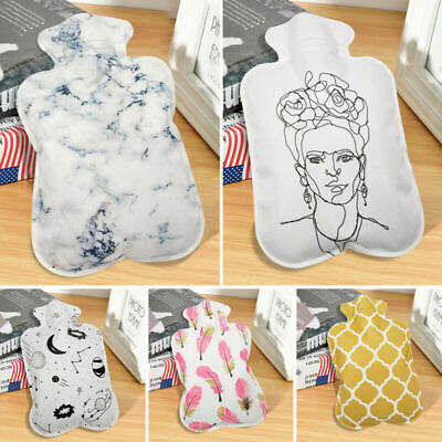 Portable Large Hot Water Bottle Bag Warm Relaxing Heat Cold